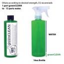 greenCLEAN TOTAL SOLUTIE DE CURATARE CONCENTRATA PENTRU TOATE SUPRAFETELE DIN INTERIOR / EXTERIOR